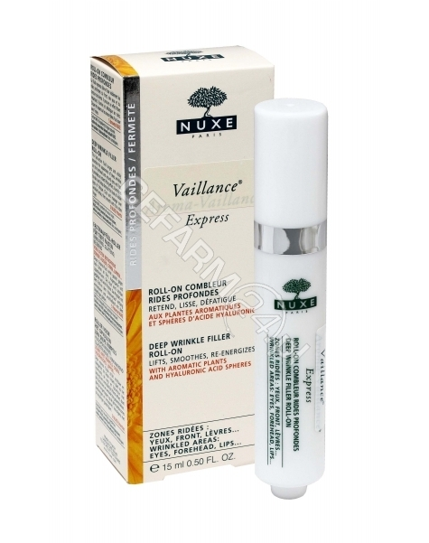 NUXE Nuxe vaillance express - roll-on oczy, usta, czoło 15 ml