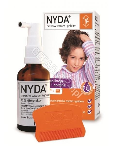 SIROSCAN Nyda preparat zwalczający wszy oraz gnidy 50 ml