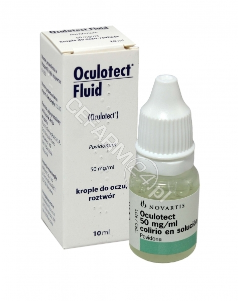 INPHARM SP Z O.O. Oculotect fluid krople 5% 10 ml (Inpharm-import równoległy)