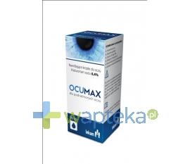 PRZEDSIĘBIORSTWO FARMACEUTYCZNE LEK-AM SP. Z O.O. OCUMAX 0.4 % krople do oczu 10 ml - Krótka data ważności - do 31-01-2016