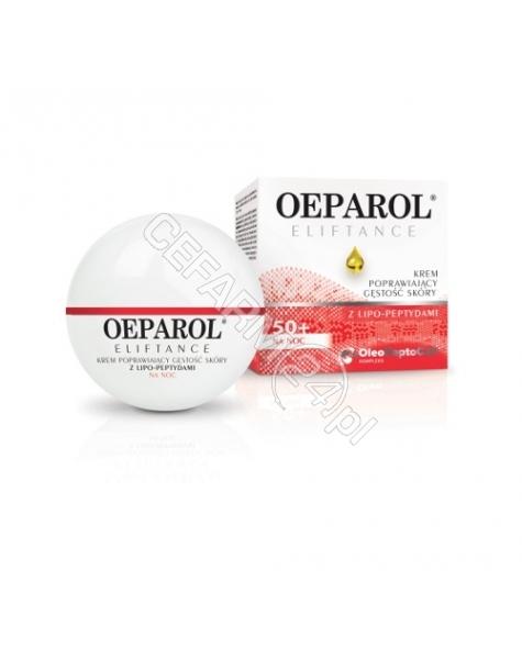 ADAMED Oeparol eliftance krem na noc poprawiający gęstość skóry z lipo-peptydami 50 ml