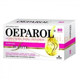 OEPAROL OEPAROL Piękna skóra, włosy, paznokcie, 60 kapsułek