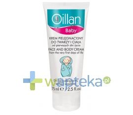 OCEANIC S.A. OILLAN Baby Delikatny krem do pielęgnacji twarzy i ciała 75ml