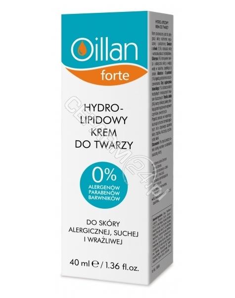 OCEANIC Oillan Forte hydro-lipidowy krem do twarzy 40 ml