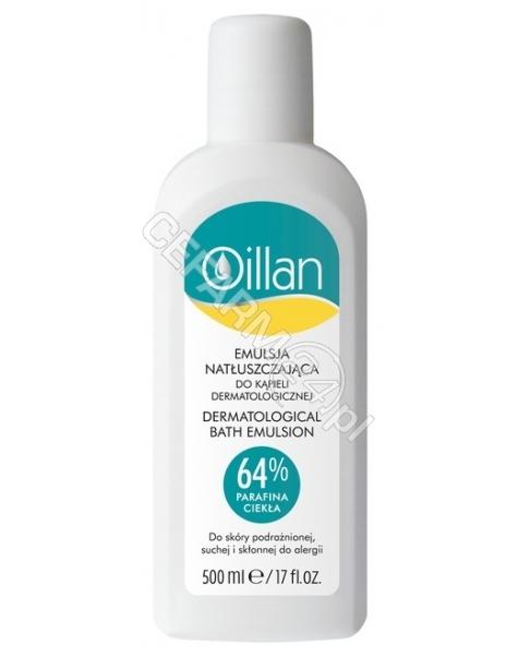 OCEANIC Oillan med + emulsja natłuszczająca do kąpieli 500 ml