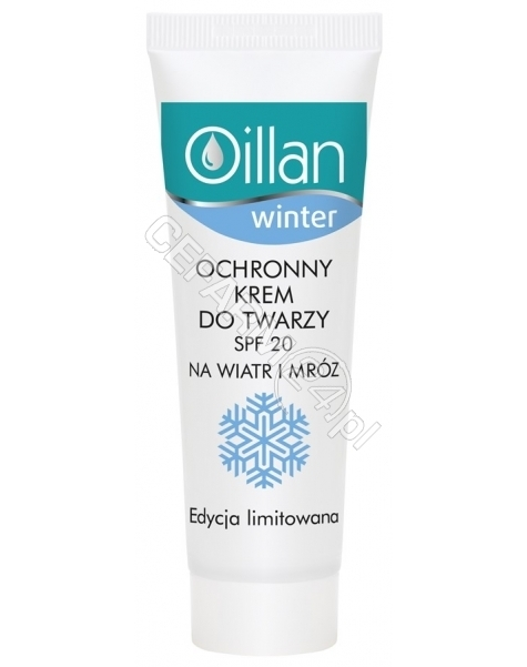 OCEANIC Oillan Winter ochronny krem do twarzy spf20 50 ml