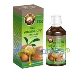 LABORATORIA NATURY SP Z O.O. Olej arganowy z Maroka BIO 50 ml