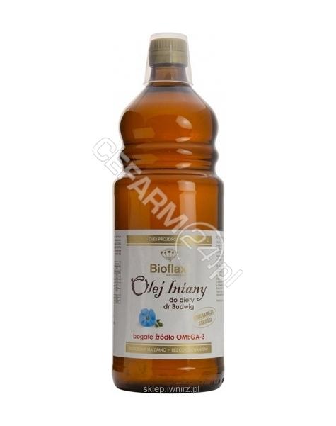 INSTYTUT Wŕ Olej lniany do diety Dr Budwig 500 ml