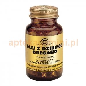 SOLGAR Olej z dzikiego oregano, Solgar, 60 kapsułek