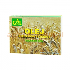 Gal Olej z kiełków pszenicy, 60 kapsułek