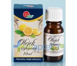 KEJ Spółka Cywilna Olejek eteryczny cytrynowy 10 ml KEJ