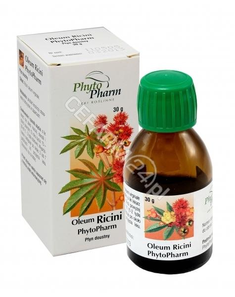 PHYTOPHARM K Oleum ricini - olej rycynowy 30 g (phytopharm)