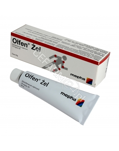MEPHA Olfen 1% żel 50 g