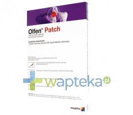 MEPHA LDA Olfen Patch plaster leczniczy 5 sztuk