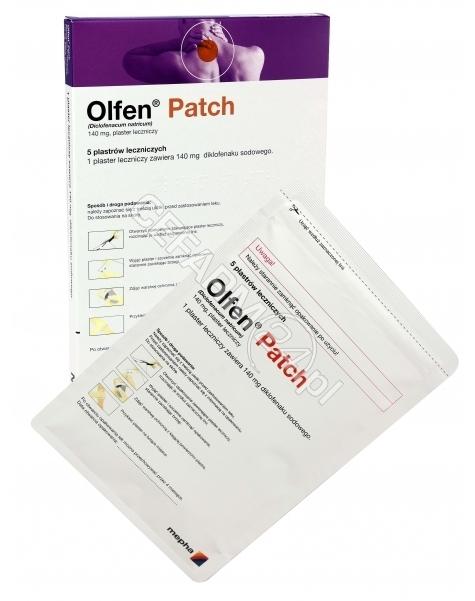 MEPHA Olfen patch plaster leczniczy x 5 szt