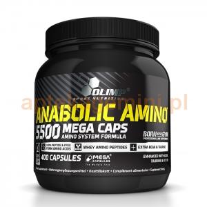 OLIMP Olimp, Anabolic Amino 5500, 400 kapsułek