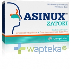 OLIMP LABORATORIES OLIMP Asinux Zatoki 30 tabletek