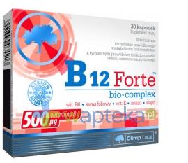 OLIMP LABORATORIES Olimp B12 Forte bio-complex 30 kapsułek