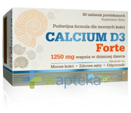OLIMP Olimp, Calcium D3 Forte, 60 tabletek