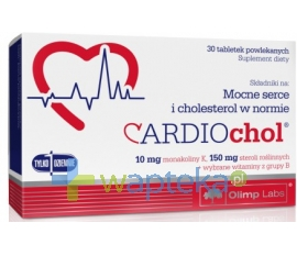 OLIMP LABORATORIES OLIMP Cardiochol 30 tabletek