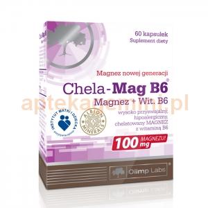 OLIMP Olimp, Chela-Mag B6, 60 kapsułek