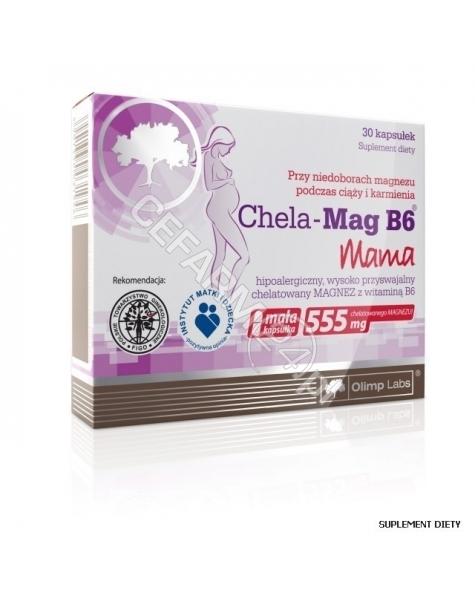 OLIMP LABS Olimp chela-mag b6 Mama x 30 kaps