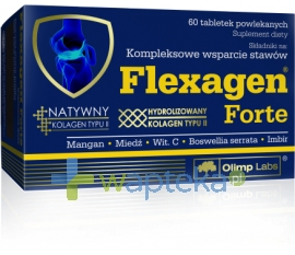 OLIMP LABORATORIES Olimp Flexagen Forte 60 tabletek