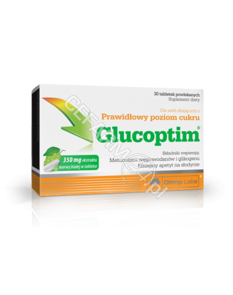 OLIMP LABS Olimp glucoptim x 30 tabl powlekanych