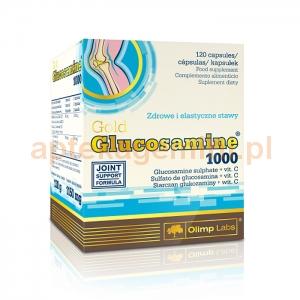 OLIMP Olimp, Glucosamine Gold 1000mg, 120 kapsułek