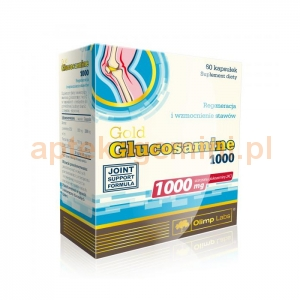 OLIMP Olimp, Glucosamine Gold 1000mg, 60 kapsułek