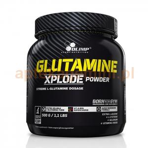 OLIMP Olimp, Glutamine Xplode, pomarańcza, 500g