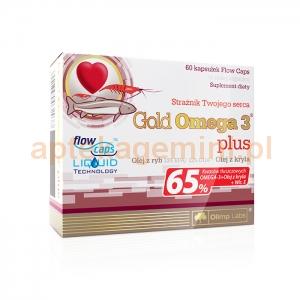 OLIMP Olimp, Gold Omega-3 Plus, 60 kapsułek