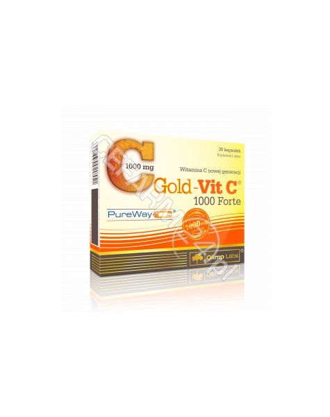 OLIMP LABS Olimp gold-vit C 1000 mg forte x 30 kaps
