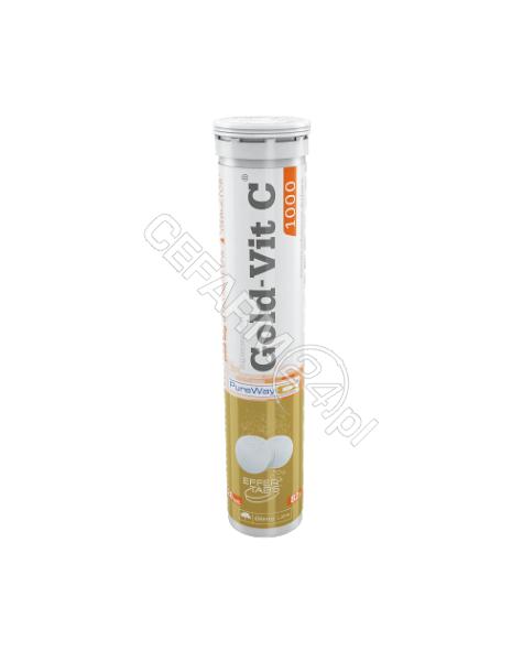 OLIMP LABS Olimp gold-vit C 1000 x 20 tabl musujących o smaku cytrynowym
