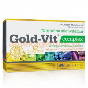 OLIMP LABORATORIES OLIMP Gold-Vit complex 30 tabletek