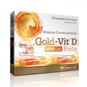 OLIMP LABORATORIES Olimp Gold-Vit D Forte 30 kapsułek