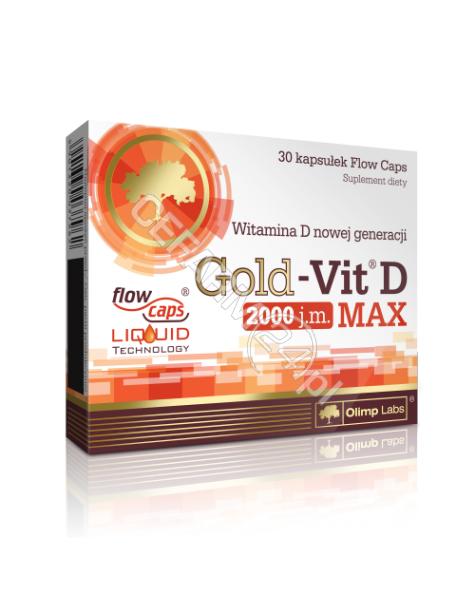 OLIMP LABS Olimp gold-vit D Max 2000 IU x 30 kaps
