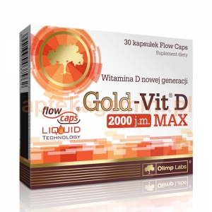 OLIMP LABORATORIES Olimp Gold-Vit D Max 30 kapsułek