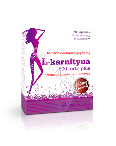OLIMP LABS Olimp L-karnityna 500 mg forte plus x 60 kaps