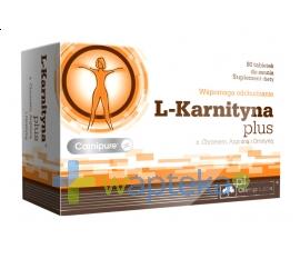 OLIMP LABORATORIES Olimp L-Karnityna Plus 80 tabletek do ssania