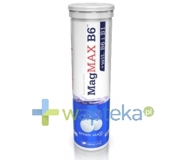 OLIMP LABORATORIES OLIMP MagMAX B6 Pomarańcza 20 tabletek musujących