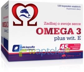 OLIMP LABORATORIES Olimp Omega-3 plus witamina E 120 kapsułek