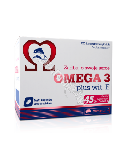 OLIMP LABS Olimp omega 3 plus witamina E x 120 kaps
