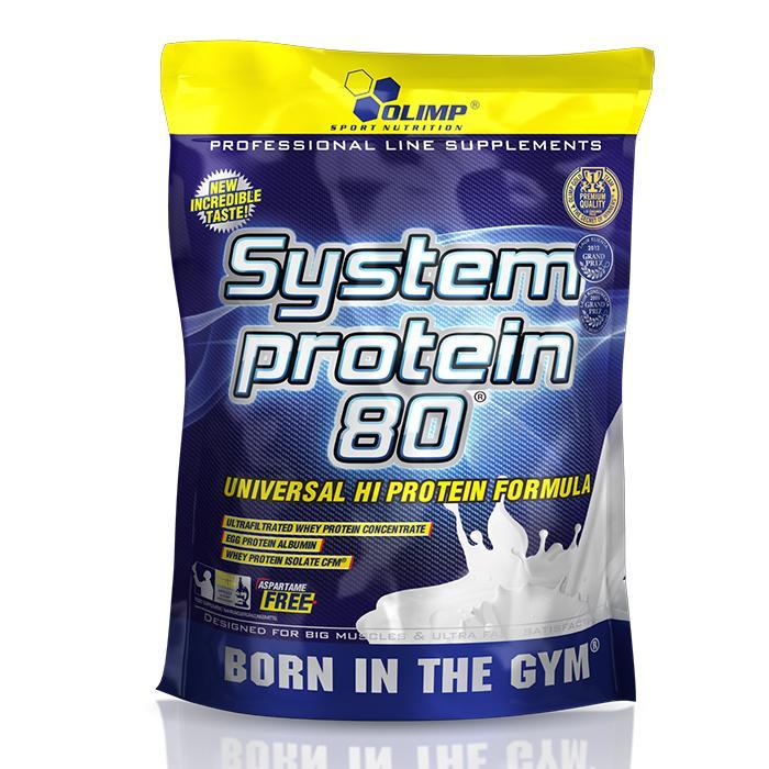 OLIMP Olimp, System protein 80, banan, 700g