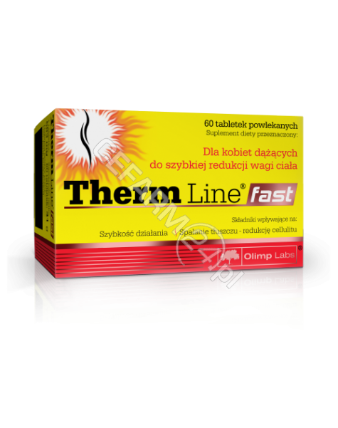 OLIMP LABS Olimp therm line fast x 60 tabl powlekanych