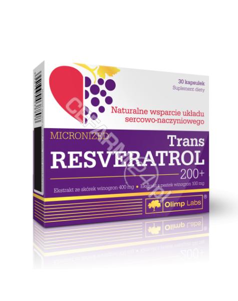 OLIMP LABS Olimp trans resveratrol 200+ x 30 kaps