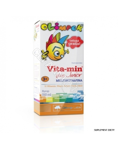 OLIMP LABS Olimpek vita-min plus Junior Multiwitamina 150 ml