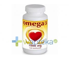 NATURELL POLSKA SP.Z O.O. Omega-3 1000 mg 120 kapsułek NATURELL