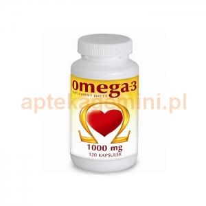 NATURELL Omega-3 1000mg, 120 kapsułek
