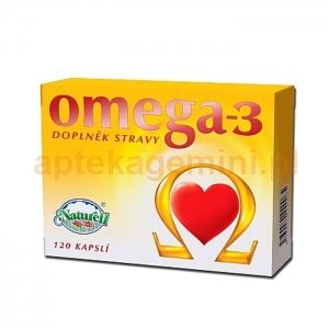 NATURELL Omega-3 500mg, 120 kapsułek